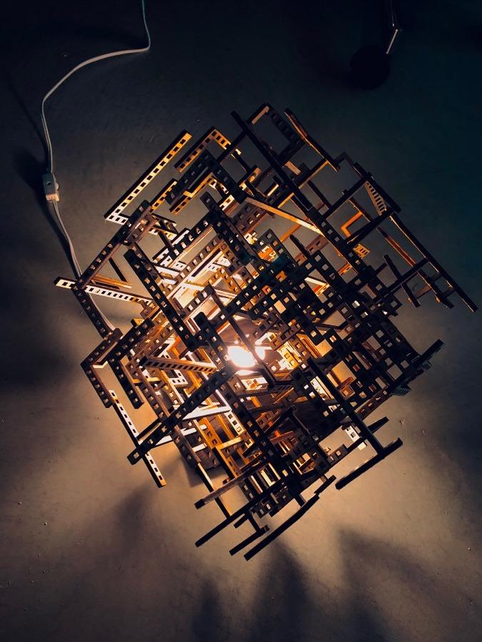 「Geometry Lamp」