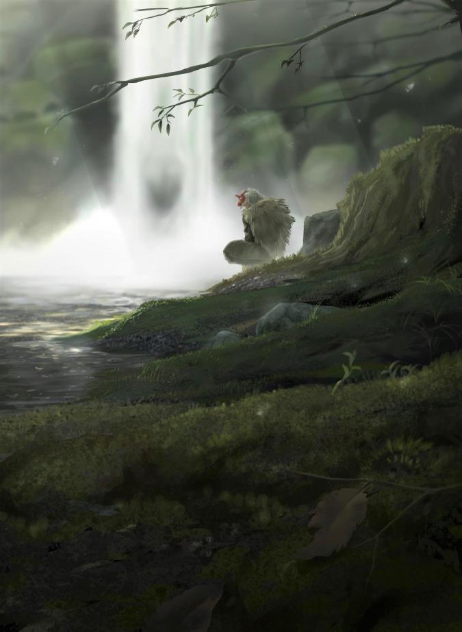 朱面の山猿