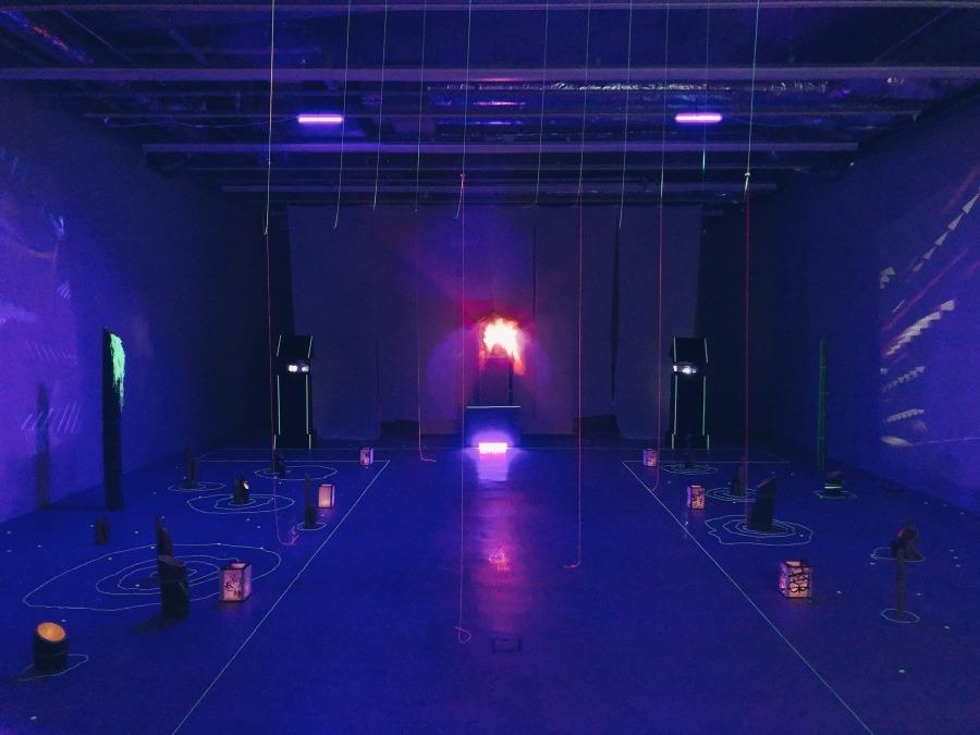 空間展示「夢か現か幻か」